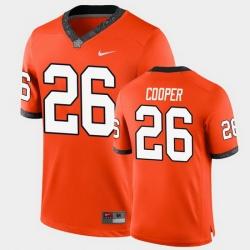 Men Oklahoma State Cowboys Micah Cooper College Football Orange Game Jersey