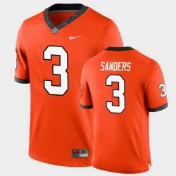 Men Oklahoma State Cowboys Spencer Sanders College Football Orange Game Jersey