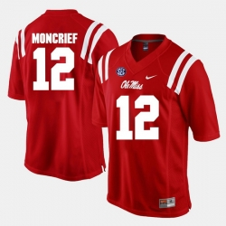 Donte Moncrief Red Ole Miss Rebels Alumni Football Game Jersey