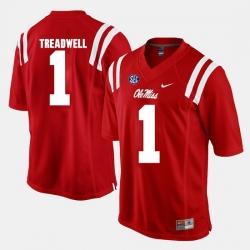 Laquon Treadwell Red Ole Miss Rebels Alumni Football Game Jersey