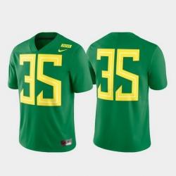 Men Oregon Ducks 35 Green Limited Football Jersey