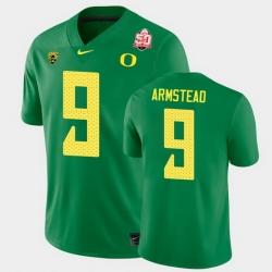 Men Oregon Ducks Arik Armstead 2021 Fiesta Bowl Green Game Jersey 0A