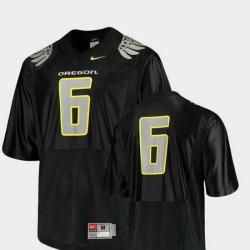 Men Oregon Ducks Black College Football Replica Jersey