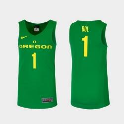 Men Oregon Ducks Bol Bol Green Replica College Basketball Jersey