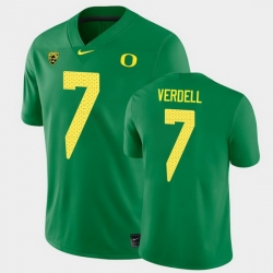 Men Oregon Ducks Cj Verdell College Football Green Game Jersey