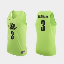 Men Oregon Ducks Payton Pritchard Apple Green Authentic College Basketball Jersey 0A