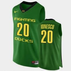 Men Oregon Ducks Sabrina Ionescu Authentic Green College Basketball Jersey