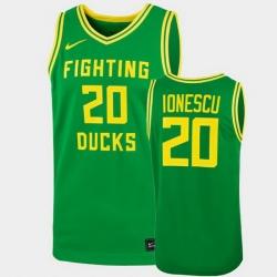 Men Oregon Ducks Sabrina Ionescu College Basketball Mint Green 2019 Replica Jersey
