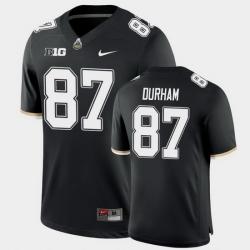 Men Purdue Boilermakers Payne Durham College Football Game Black Jersey