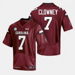 Men South Carolina Gamecocks College Football Cardinal Jersey