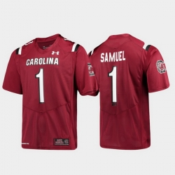 Men South Carolina Gamecocks Deebo Samuel 1 Maroon Replica Alumni Football Jersey