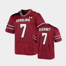 Men South Carolina Gamecocks Jadeveon Clowney Replica Garnet Football Jersey