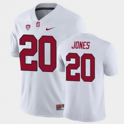 Men Stanford Cardinal Austin Jones Game White College Football Jersey