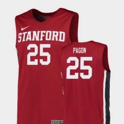 Men Stanford Cardinal Blake Pagon Red Replica College Basketball Jersey