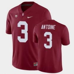 Men Stanford Cardinal Malik Antoine College Football Cardinal Game Jersey