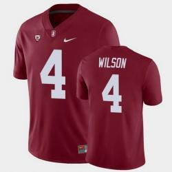 Men Stanford Cardinal Michael Wilson College Football Cardinal Game Jersey