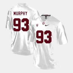 Men Stanford Cardinal Trent Murphy College Football White Jersey