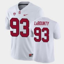 Men Stanford Cardinal Trey Labounty Game White College Football Jersey
