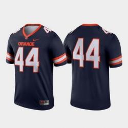 Men Syracuse Orange 44 Navy Legend College Football Jersey