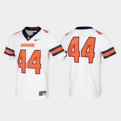 Men Syracuse Orange 44 White Untouchable Game Jersey
