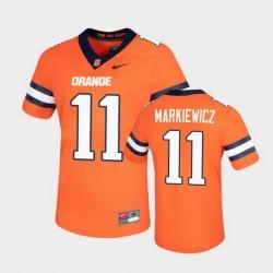 Men Syracuse Orange Dillon Markiewicz Untouchable Game Orange Jersey