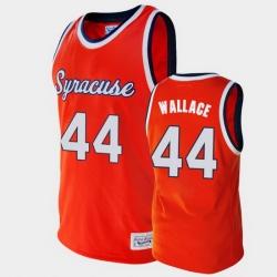 Men Syracuse Orange John Wallace Alumni Orange College Baketball Jersey
