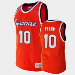 Men Syracuse Orange Jonny Flynn Alumni Orange College Basketball Jersey