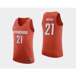 Men Syracuse Orange Marek Dolezaj Orange College Basketball Jersey