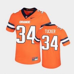 Men Syracuse Orange Sean Tucker Untouchable Game Orange Jersey