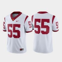 Men Usc Trojans 55 White Game College Football Jersey