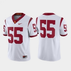 Men Usc Trojans 55 White Limited Football Jersey