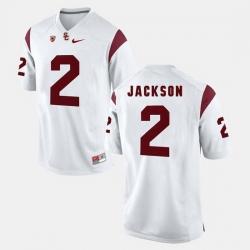 Men Usc Trojans Adoree' Jackson Pac 12 Game White Jersey