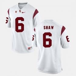 Men Usc Trojans Josh Shaw Pac 12 Game White Jersey