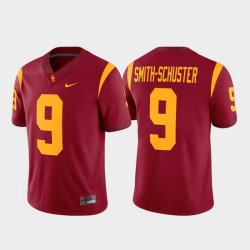 Men Usc Trojans Juju Smith Schuster 9 Cardinal Game Alumni Player Jersey