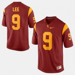 Men Usc Trojans Marqise Lee College Football Red Jersey