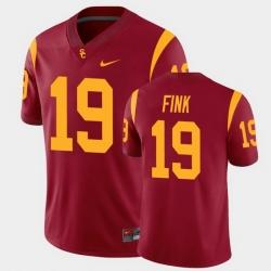 Men Usc Trojans Matt Fink College Football Cardinal Alumni Player Game Jersey