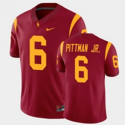 Men Usc Trojans Michael Pittman Jr. College Football Cardinal Alumni Player Game Jersey