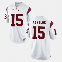 Men Usc Trojans Nelson Agholor Pac 12 Game White Jersey