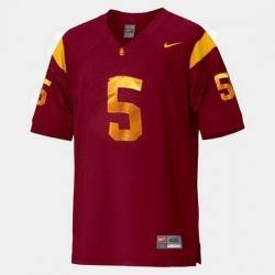 Men Usc Trojans Reggie Bush College Football Red Jersey