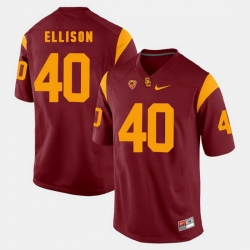 Men Usc Trojans Rhett Ellison Pac 12 Game Red Jersey