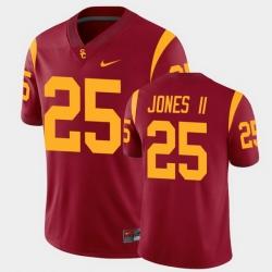 Men Usc Trojans Ronald Jones Ii College Football Cardinal Alumni Player Game Jersey
