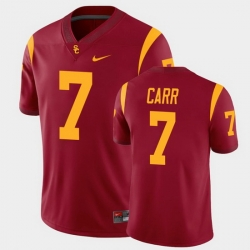 Men Usc Trojans Stephen Carr College Football Cardinal Alumni Player Game Jersey