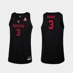 Men Houston Cougars Armoni Brooks Black Replica College Basketball Jersey