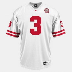 Men Nebraska Cornhuskers Taylor Martinez College Football White Jersey