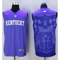 Wildcats Blank Blue Basketball Stitched NCAA Jersey