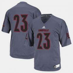 Louisville Cardinals College Football Black Jersey