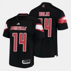 Louisville Cardinals Kyle Bolin College Football Black Jersey