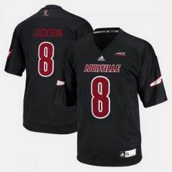 Louisville Cardinals Lamar Jackson College Football Black Jersey