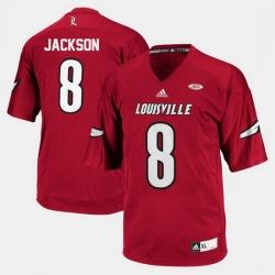 Louisville Cardinals Lamar Jackson College Football Red Jersey