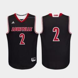 Men Louisville Cardinals Black Replica College Basketball Adidas Jersey 0A